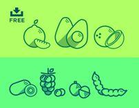 Fruit Icons Pt. 2