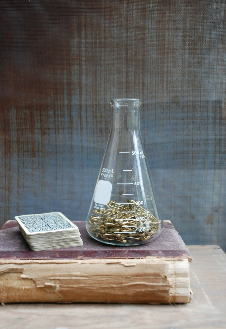29 best hipster scientist images on pinterest home for the home vintage lab beaker science home decor by hulahoopvintage on etsy