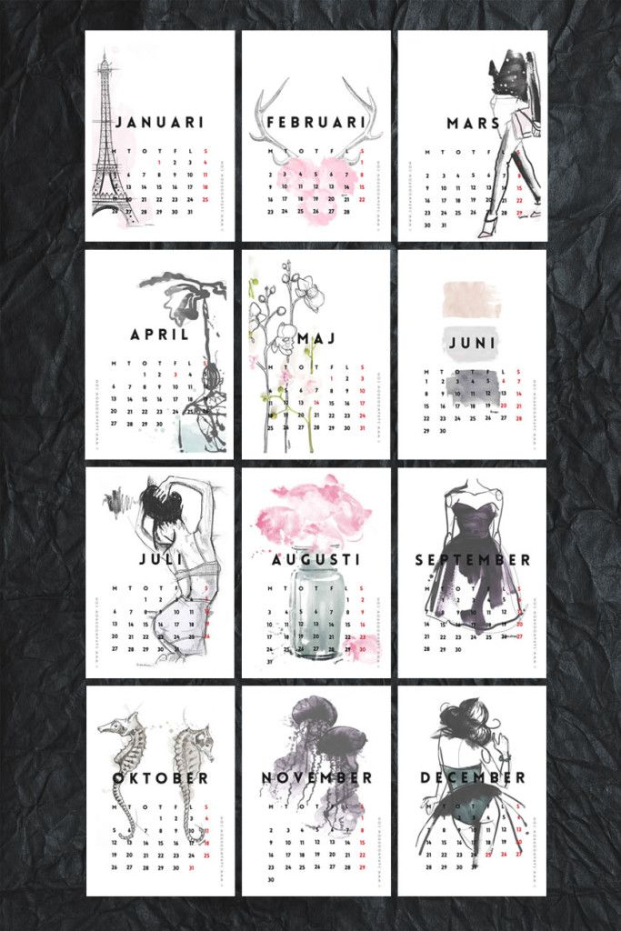 Free Of Charge Printable 2015 Calendars | Decor Advisor