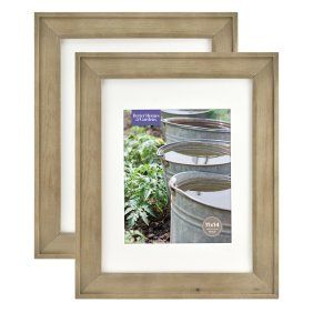 Better Homes & Gardens 8x10/5x7 Rustic Wood Picture Frame