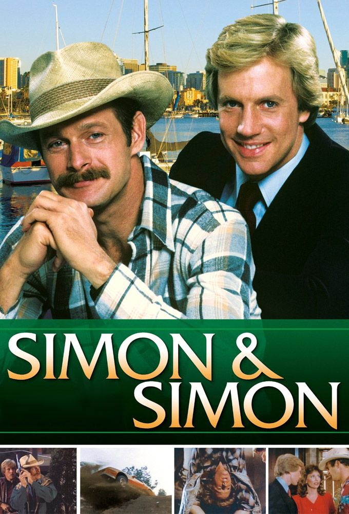 Simon & Simon (1981–1995) - Two brothers of disparate tastes and manners run a private detective agency. A.J. Simon is a polished fellow with a taste for classic cars and tailored suits. Rick Simon is his less refined (but still pleasant) older brother who has a taste for cowboy boots and four-wheel drive pickups. The two of them live in San Diego, where they own a private detective agency.
