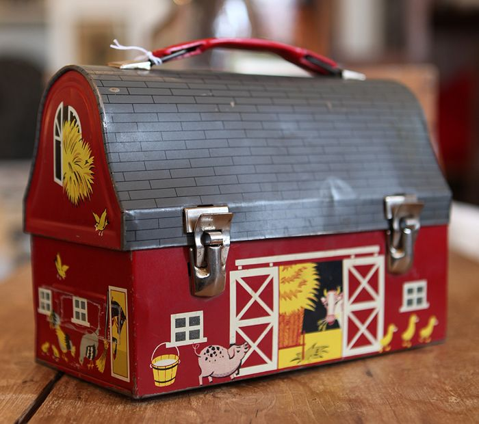 I remember this so well-my little brothers lunch box