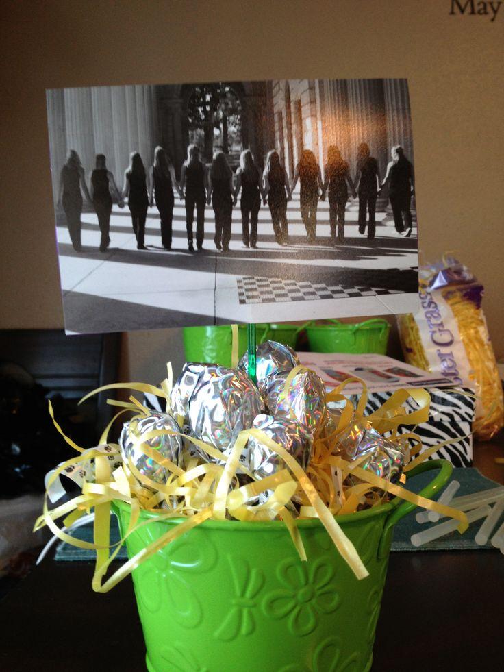 Dance banquet centerpieces  Stuff Ive made  Dance team gifts Banquet centerpieces Dance