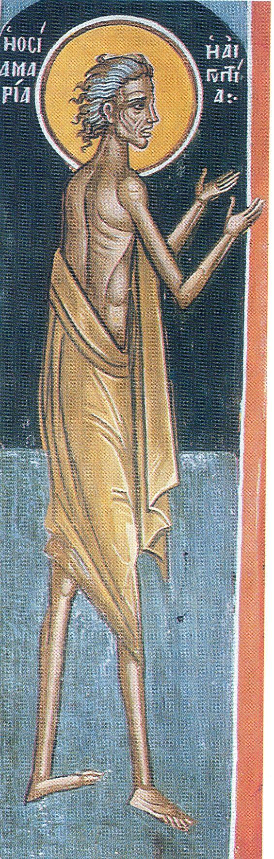 Η Οσία Μαρία η Αιγυπτία και η εγγύηση της μετάνοιας.