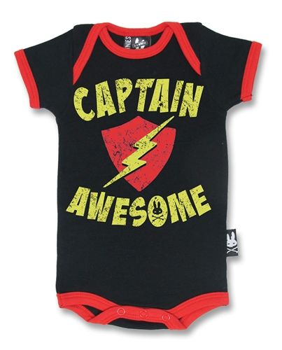 Captain Awesome Romper by Six Bunnies