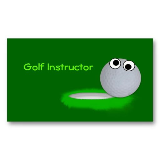 16 best golf instructor business cards images on pinterest golf instructor business card colourmoves