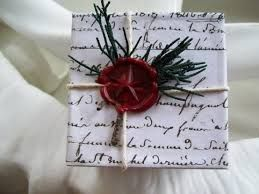 christmas packages in french script - Google Search