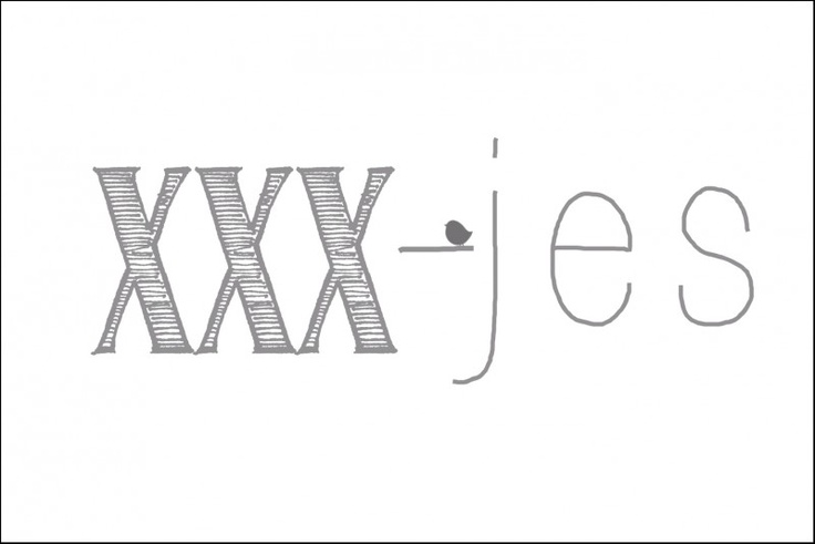 XXX - jes. Kisses. Grey. Love.