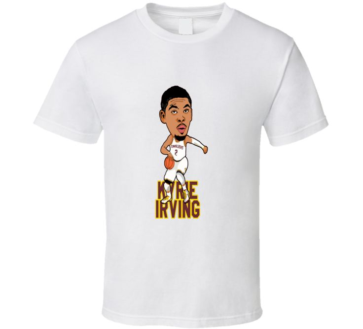 Kyrie Irving Cleveland Cavaliers Nba Cool Animated Basketball T Shirt