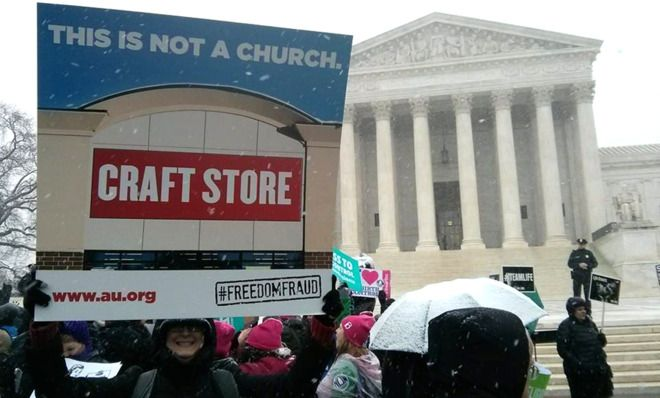 "Amen. [""The Hobby Lobby case is all about power, not religious liberty""]"