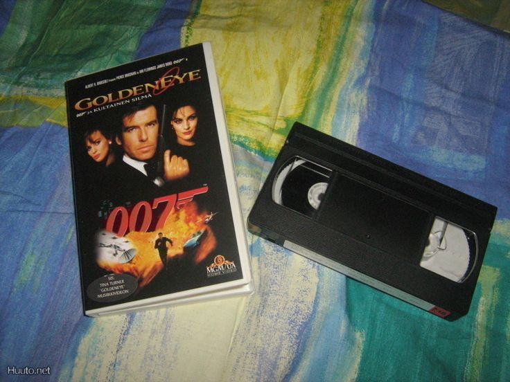 Q!****//VHS/ 007 Golden eye,Pierce Brosnan osastossa Toiminta
