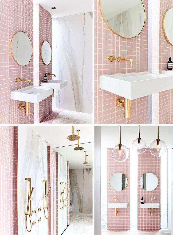 Bathroom Ideas: 51 Pink Bathrooms Design Ideas – New Florida House