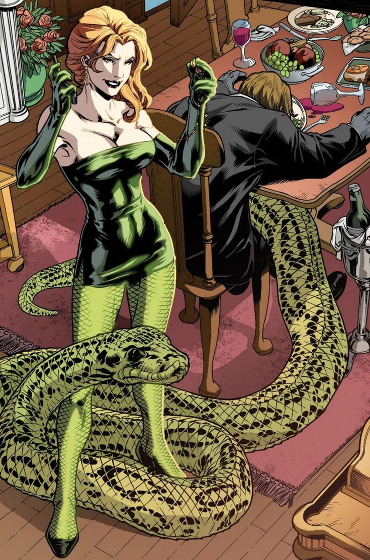 Princess Python | Serpent Society - Marvel | Marvel comics ...