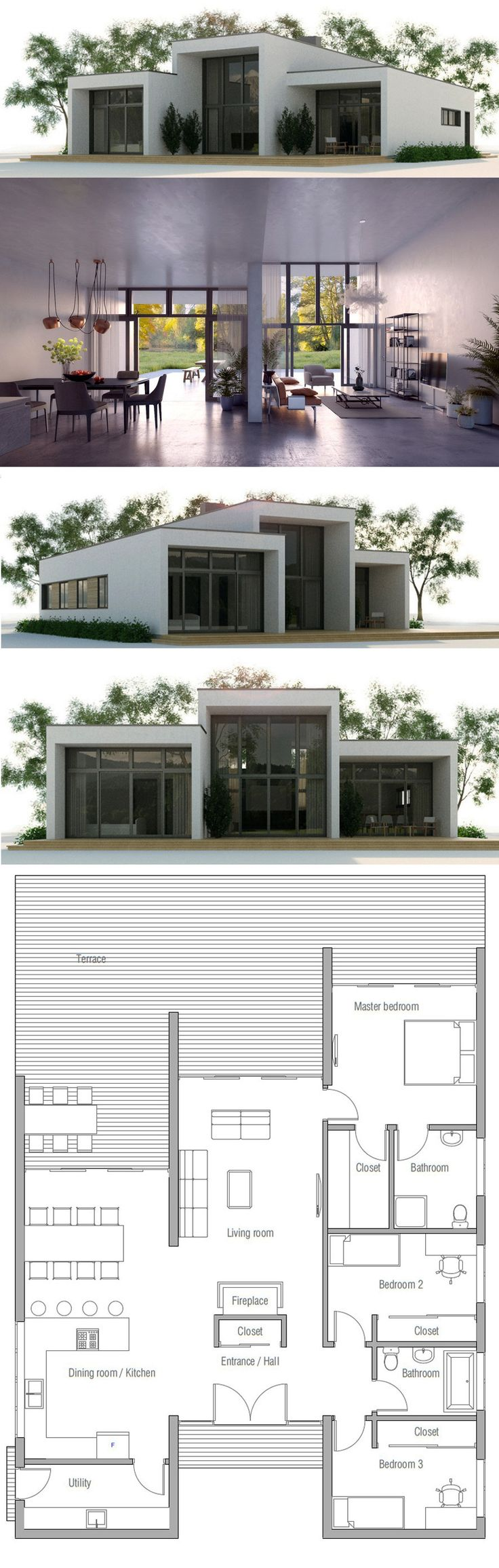 191 best house plans, contemporary modern houses images on
