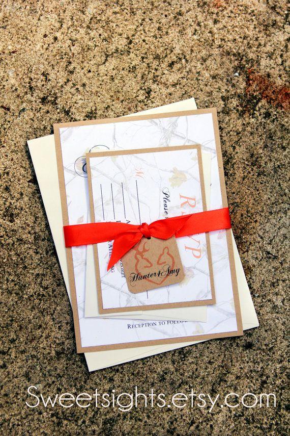 15 best wedding invitations images on Pinterest | Camo wedding ...
