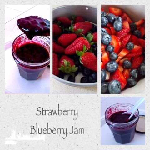 Your Everyday Cook: STRAWBERRY BLUEBERRY JAM