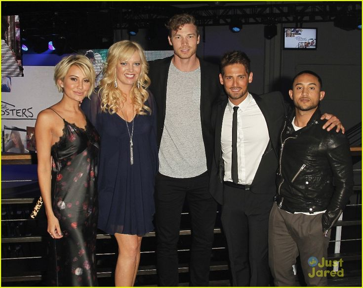 Baby Daddy cast at the ABC Family Upfronts 2015
