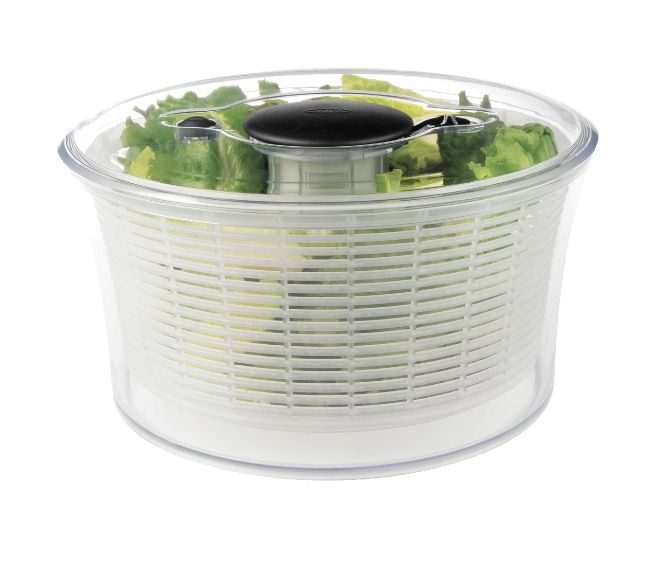 Salad spinners are useful for drying your salad greens, herbs and fruits. But, we have six more ways to use your salad spinner. Read at Chatelaine.com!