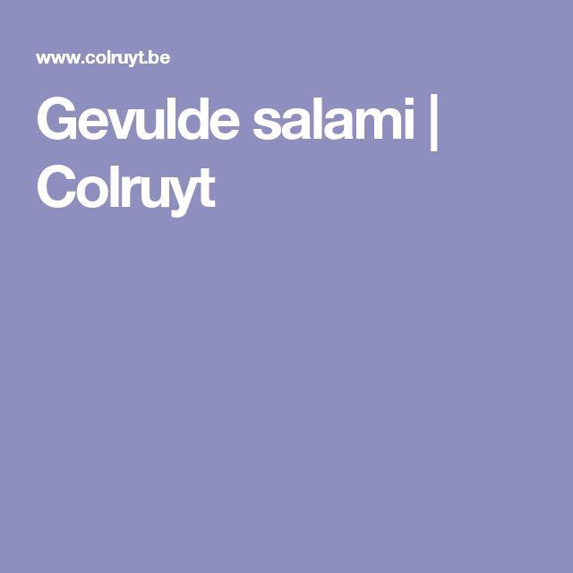 Gevulde salami | Colruyt