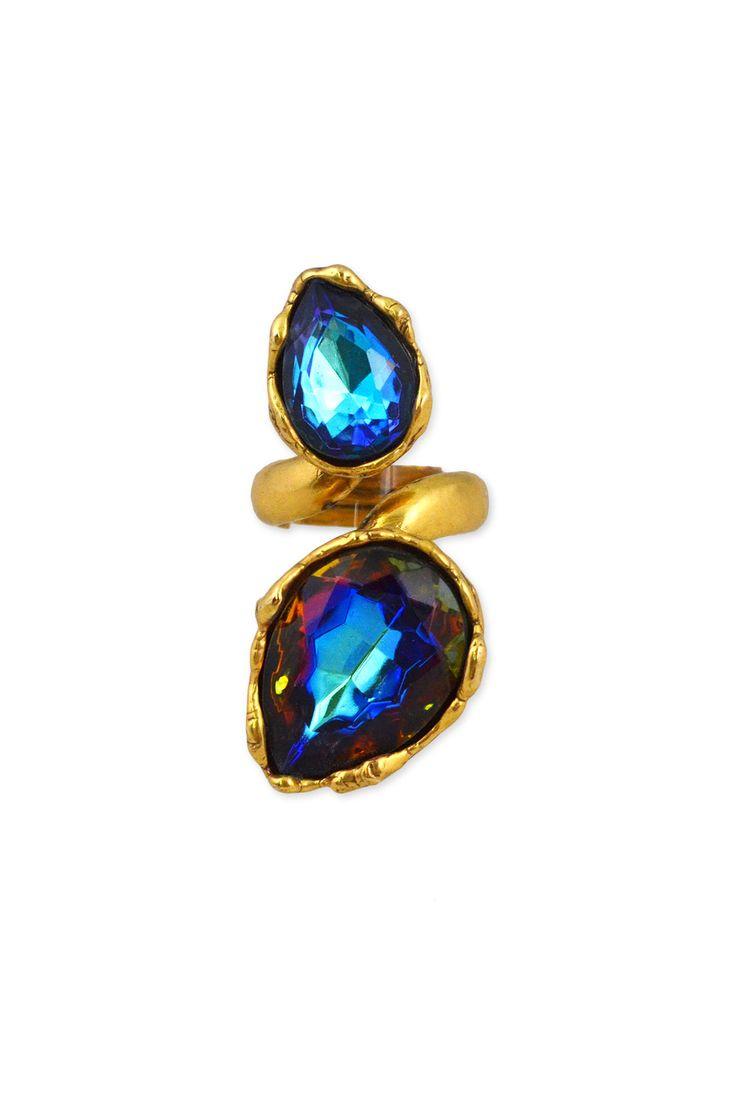 Perfect for #NYE, Oscar de la Renta Northern Lights Ring, http://rtr.cm/19umv2e