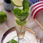 Hugo - Prosecco/Champagne drink with elderberry flower syrup Colorado Denver Foodblog German recipes My Kitchen in the Rockies | A Denver, Colorado Food Blog