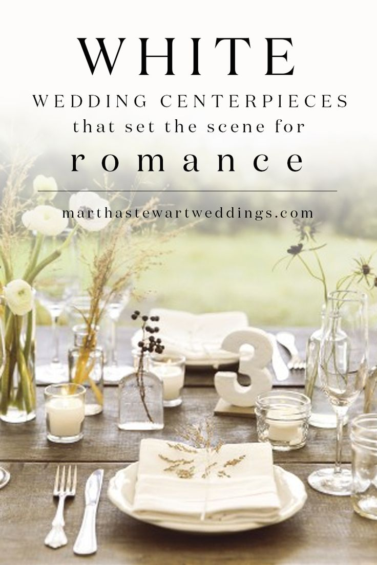 The 859 best Wedding Centerpieces images on Pinterest