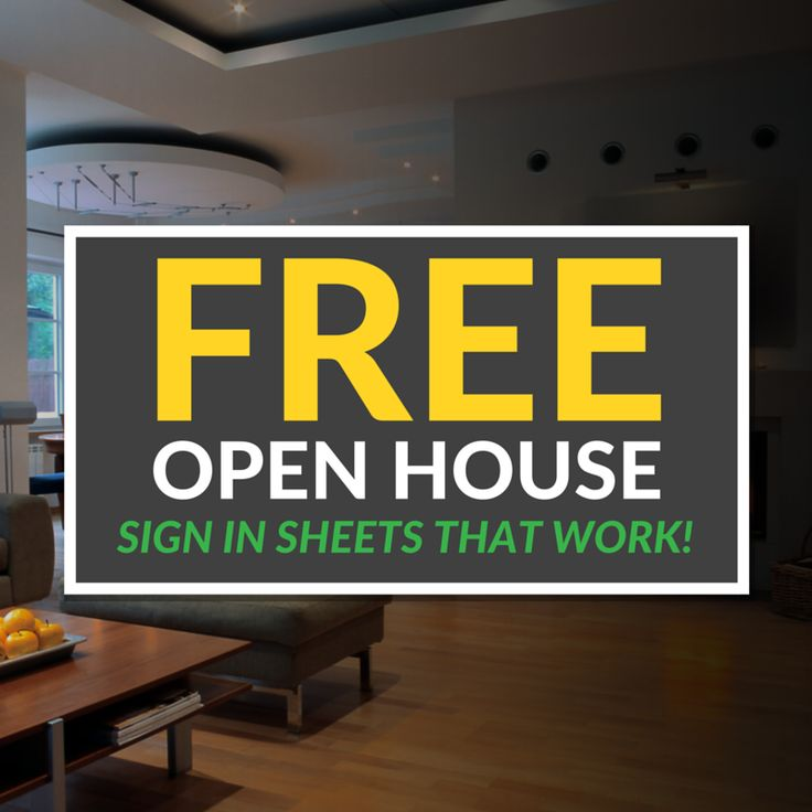 signs real estate open house sign in sheet open house ideas for