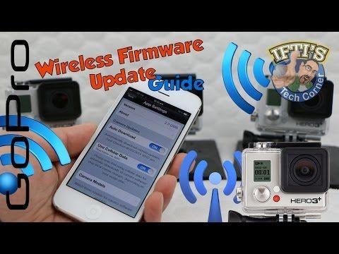 GoPro Wireless Firmware Update Guide - Using GoPro WiFi Smartphone App! - YouTube