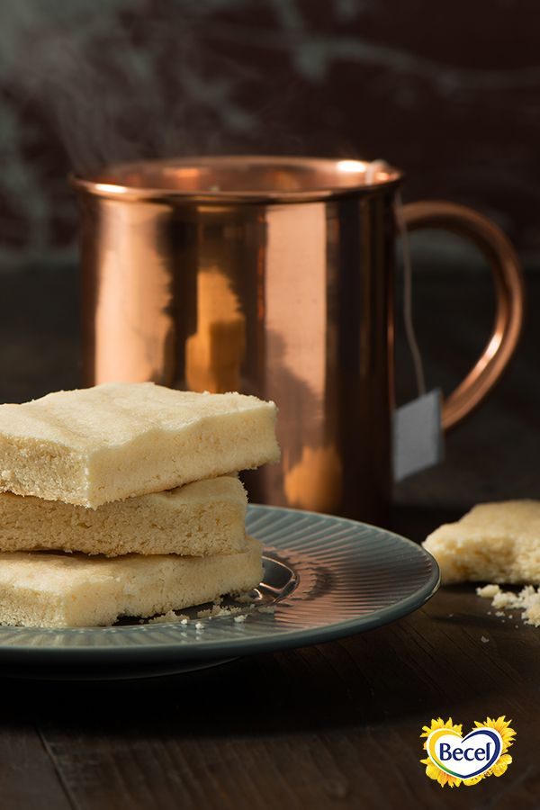 Our Shortbread Cookies recipe, made with new, limited-edition Becel Sticks, is ready in less than half an hour.