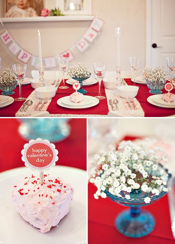 Valentines Dinner Party Ideas Part - 29: Sweet U0026 Simple Valentineu0027s Day Dinner Party