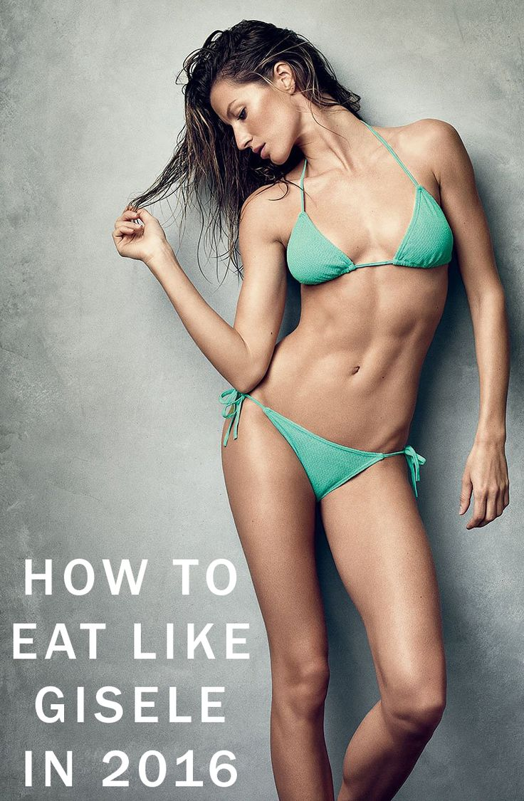 How to eat your way to Gisele's body this year