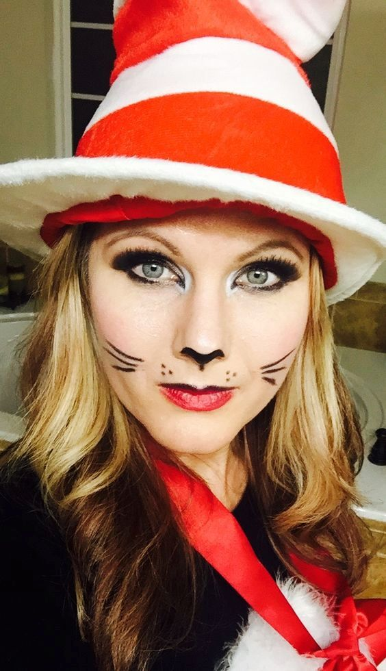 25 easy halloween makeup ideas for women - Easy Halloween Ideas