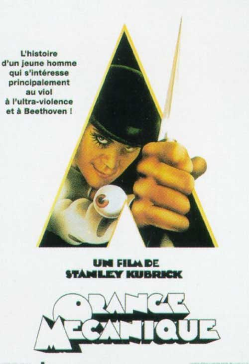 Afficher le sujet - Orange Mécanique- A Clockwork Orange- 1971- Stanley Kubrick • CineFaniac