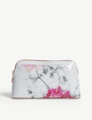e0eeadfc6052 TED BAKER - Babylon floral-print makeup bag