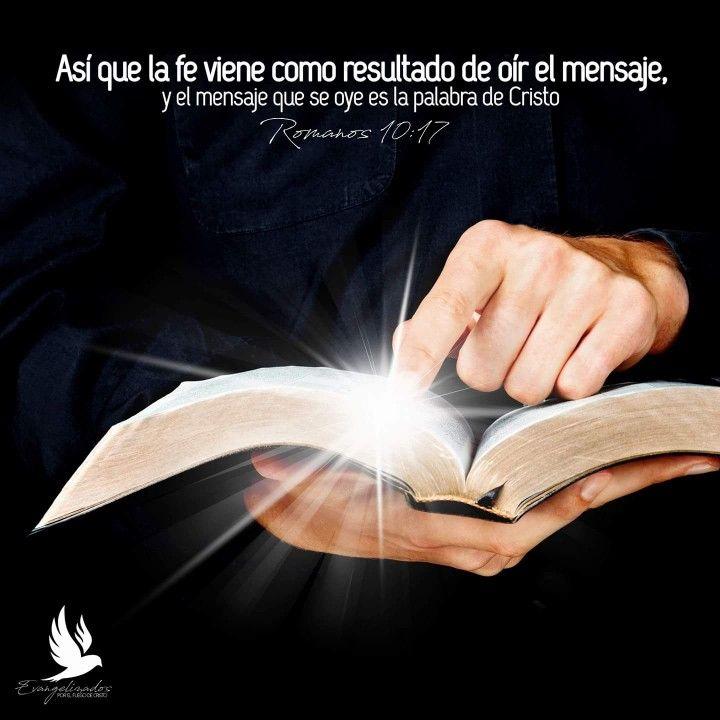 LA FE VIENE POR OIR LA PALABRA DE DIOS! #EvangelizandoALasNaciones ...