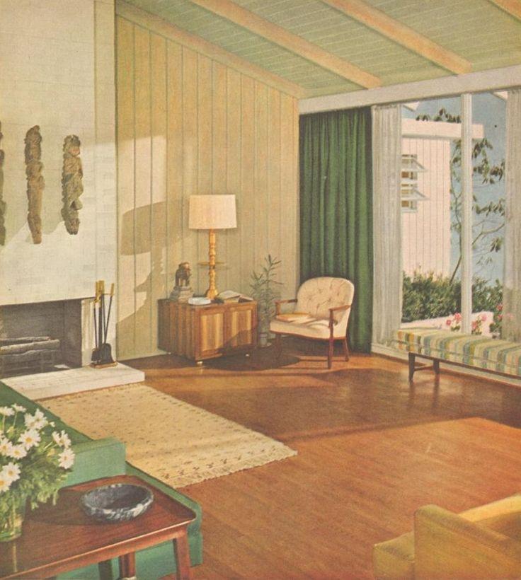 1000+ images about 1960s Living Room on Pinterest   Orange living