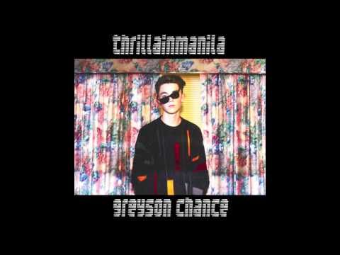 Greyson Chance - Thrilla in Manila [Official Audio] - YouTube -This kid has got some serious talent developing; I'm gonna be rooting for him!