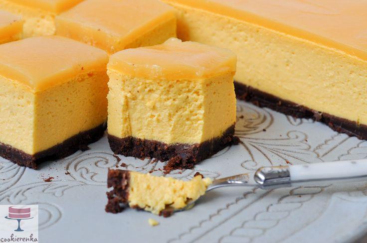 Domowa cookierenka Agi: Tropikalny sernik (z mango)