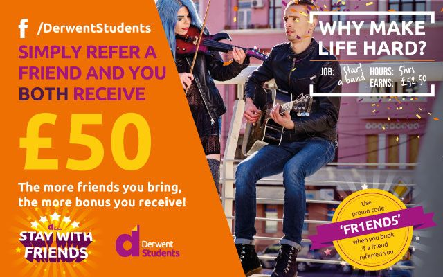 Refer a friend and receive £50 off in Amazon vouchers.