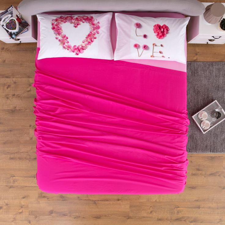 Completo Letto Federe Digitale Sweety  #carillohome #decor #homedecor #completoletto #love #romantic #mood #flower #biancheriaperlacasa #interior