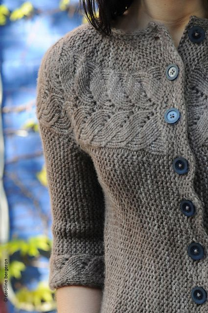 Ravelry: Vine Yoke Cardigan pattern by Ysolda Teague.