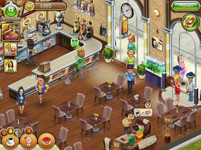 Бизнес мечты Кофейня 2 - скриншот из игры 1 #игра #игры