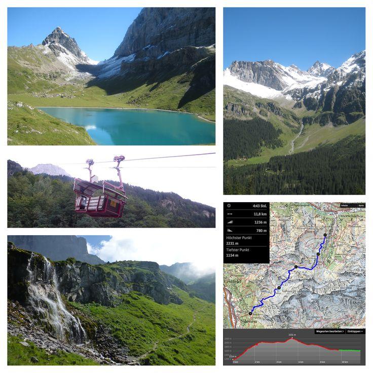 Chilcherbergen - Seewlialp - Griesstal - Sitlisalp (5h)