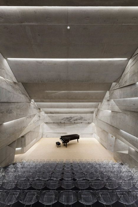 Concert hall in Blaibach by Peter Haimerl