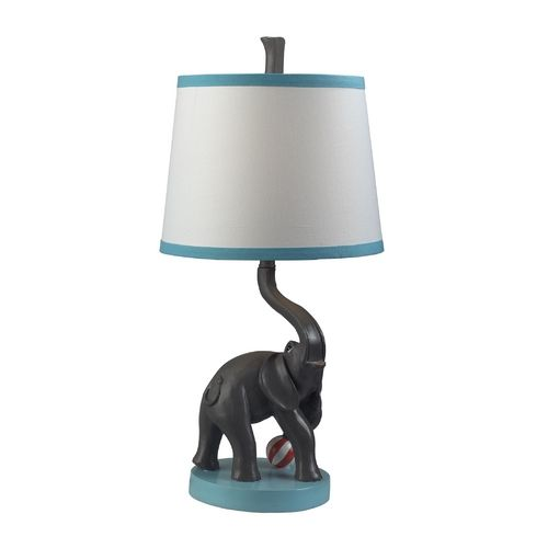 lively elephant table lamp lil peanut pinterest. Black Bedroom Furniture Sets. Home Design Ideas