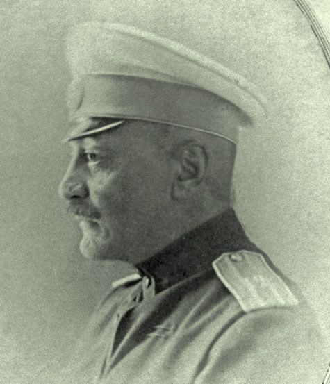 Prince Mansoor Mirza Ghajar (1869 - 26 September 1931, Baku) - Colonel. The officer of the 12th dredges. Starodubovskogo regiment. Member of World War I. Was injured. It was in the reserve ranks at the headquarters of the Kiev IN (from 23/09/1914). The commander of the 12th Hussars. Akhtyrsky Regiment (from 19/10/1917). In 12.1917 in the same rank and position. In 03.1918 and 10.1918 I was in Baku. Later he served in the civil service. He died of myocarditis.