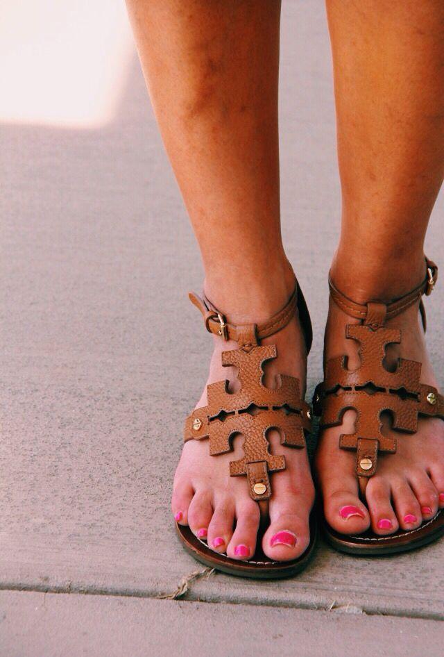 'chandler' sandals #toryburch