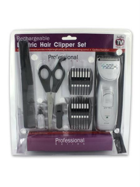Rechargeable Hair Clipper Set with Accessories (Available in a pack of 1)