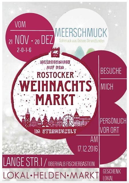 MeerSchmuck im Sternenzelt auf dem Rostocker Weihnachtsmarkt 2016