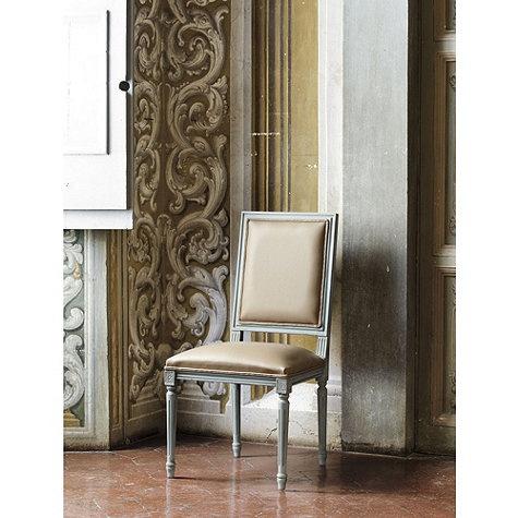 Leonardo Leather Chair From Ballard Designs | Ballarddesigns.com
